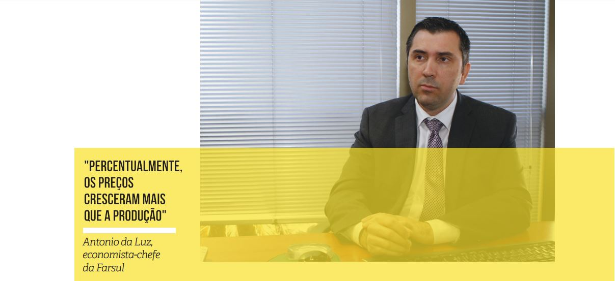 REGISTRO FOTOGRAFICO - Antonio da Luz, economista-chefe da Farsul