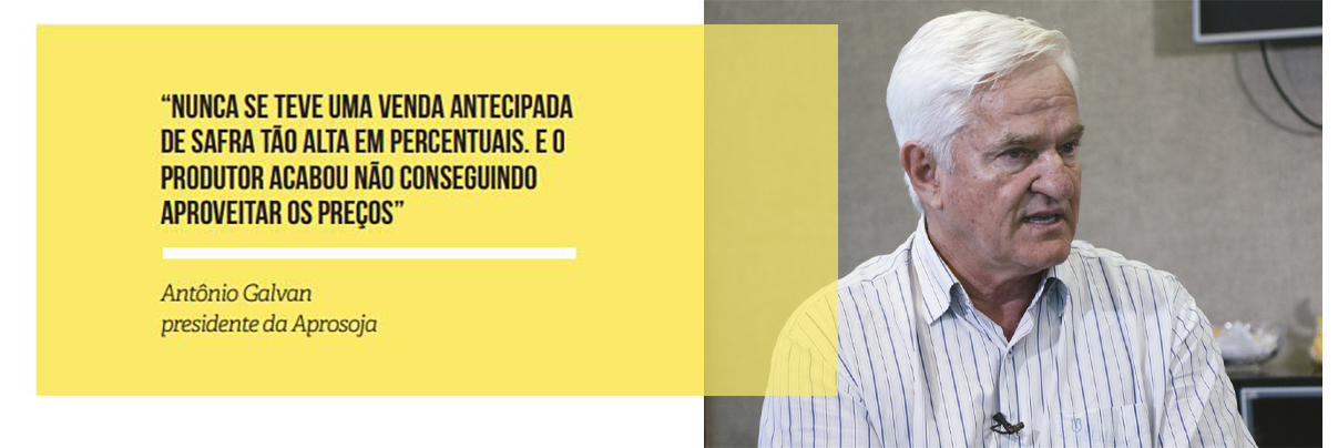 REGISTRO FOTOGRAFICO - Antônio Galvan presidente da Aprosoja