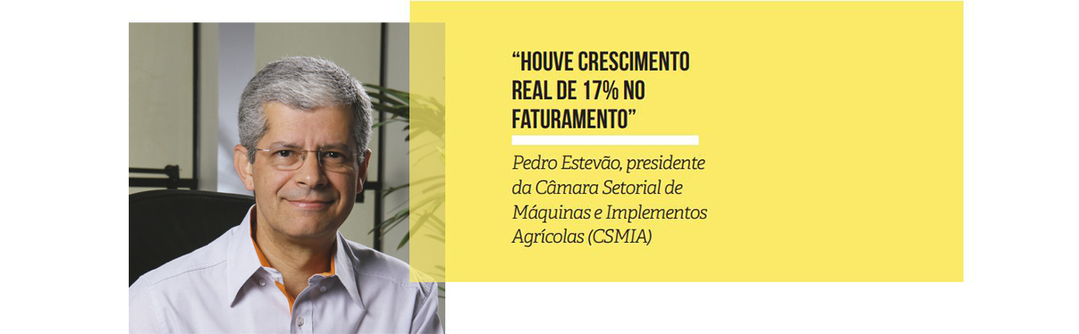 REGISTRO FOTOGRAFICO - Pedro Estevão, presidente da Câmara Setorial de Máquinas e Implementos Agrícolas (CSMIA)