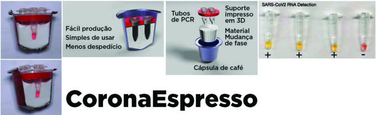 O TESTE CORONASPRESSO- Covid-19