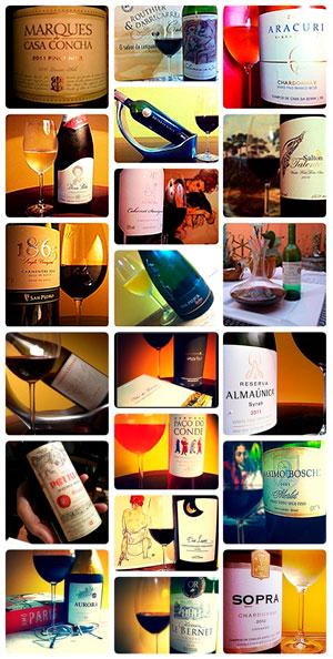 Rotulos de vinho